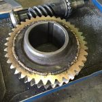 custom helical worm gear