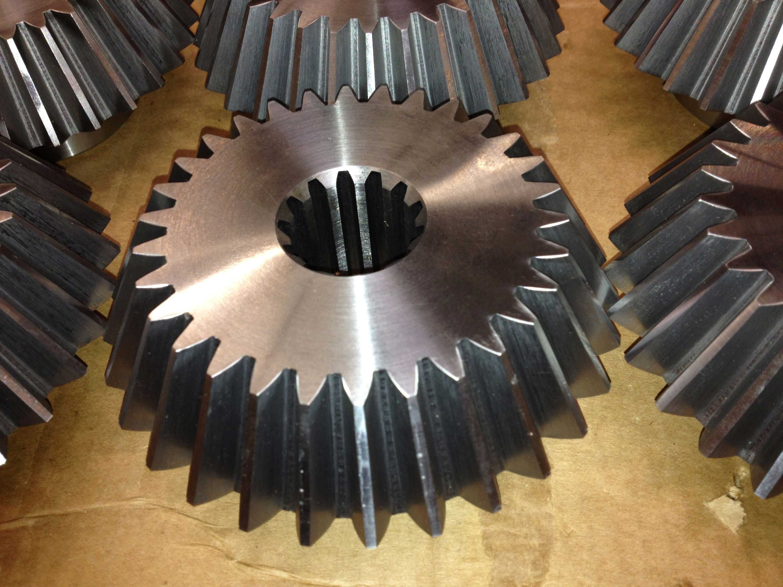 bevel gears with internal spline
